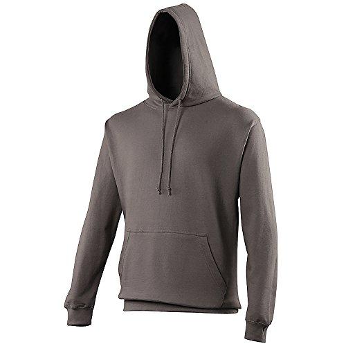 Anvil - Sweatshirt à capuche - Adulte unisexe (L) (Gris foncé)
