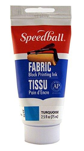 Speedball Art Products Company Stoff Tinte, türkis, 2.5 FL oz