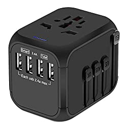 Universal Travel Adapter #travelclans #travelaccessories #men