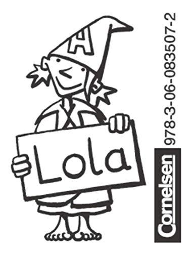 Einsterns Schwester - Zu allen Ausgaben - 1. Schuljahr: 2 Stempel im Beutel - Motiv Stern und Motiv Lolafigur