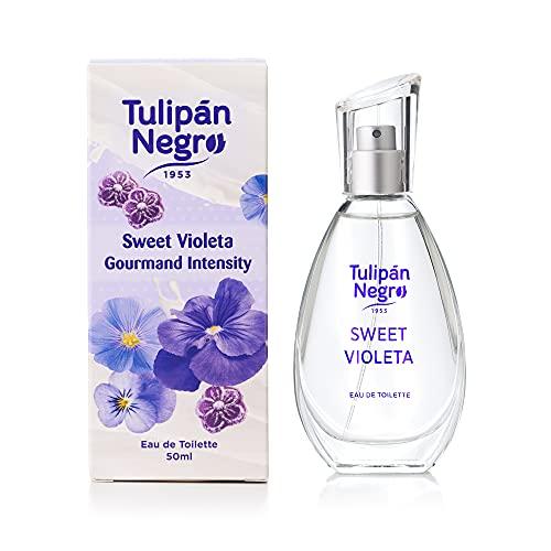 Eau De Toilette Tulipán Negro Gourmand Sweet Violeta 50 ml