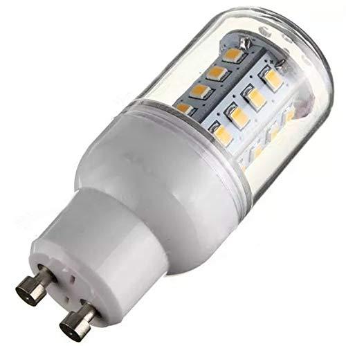 WULE-RYP GU10 3.3W 30 SMD 2835 LED Bulb di Mais Bianco Caldo/Bianco 110 (Color : Warm White GU10)