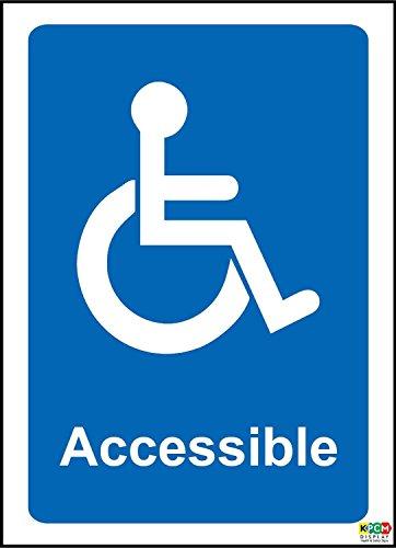 Silla de ruedas acceso aviso señal–autoadhesivo...