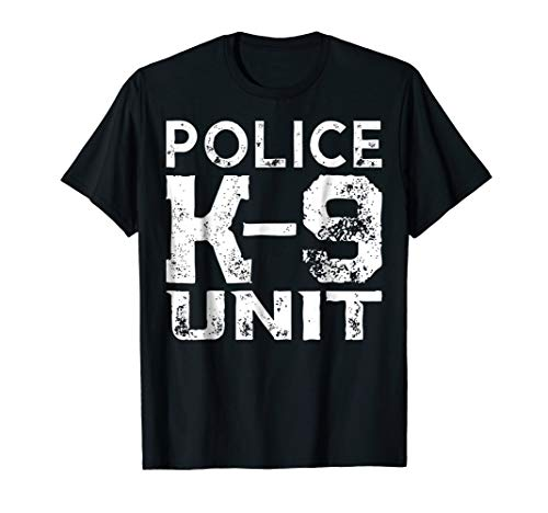 K-9 Police Officer Tshirt Law Enforcement Cop Shirt