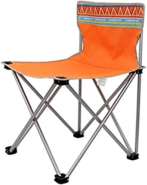 COLOM Outdoor Folding Chair, Portable Beach Lounge Chair Folding Stool Fishing Chair Backrest Sketch Chair Stool