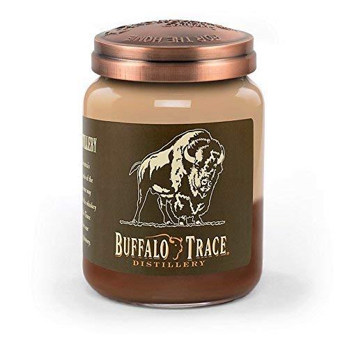 Buffalo Trace Bourbon Roasted Pecan 26 oz. Large Jar Candleberry Candle