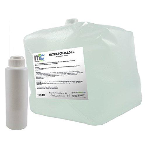 Ultraschallgel Gel 10kg Cubitainer mit Leerflasche, Sonographie-Gel, Sonogel, Leitgel
