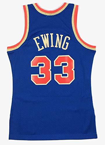 Mitchell & Ness Patrick Ewing New York Knicks Men's 1991 Chinese New Year Jersey (Medium)