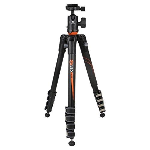 Vanguard VEO 265AB treppiede Fotocamere digitali/film 3 gamba/gambe Nero, Arancione