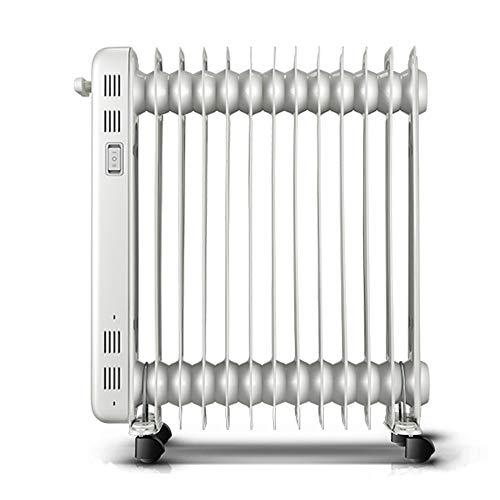 Heater 2200W De Ahorro De Energía Silencio con Aceite Calentador 360 °...