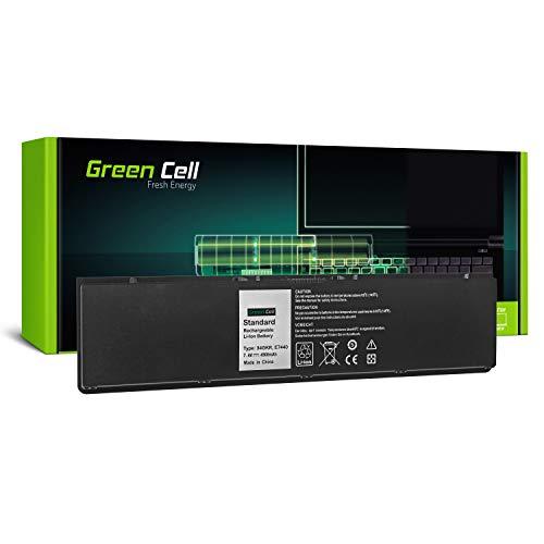 GC® Laptop Akku für Dell Latitude E7440 E7450 (Li-Polymer Zellen 4500mAh 7.4V Schwarz)