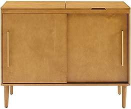 Crosley Furniture Everett Mid-Century Modern Media Console, Acorn