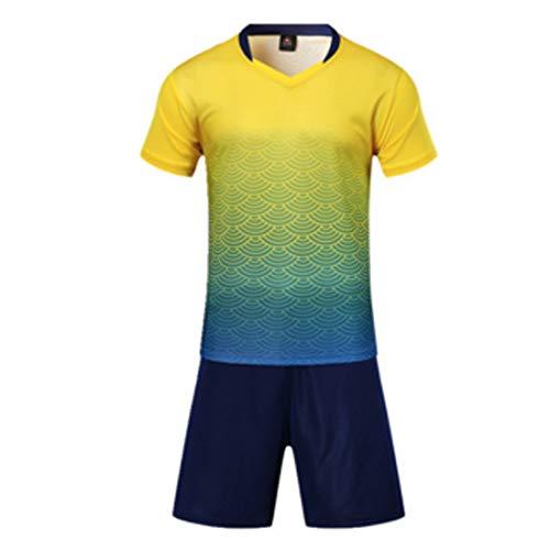 Inlefen Athletischer Fußball Männer und Frauen Fußball Ausbildung Sport Anzug Trikot und Shorts