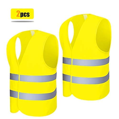 antipiega misura standard Unbekannt Gilet ad alta visibilit/à EN471/giallo lavabile