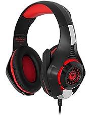 Gamemax 5481, Gaming Kulaklık, Kırmızı