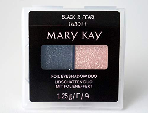 Black & Pearl Foil Eye Shadow Duo Lidschattenduo mit Folieneffekt 1,25 g MHD 2023