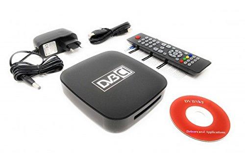 Dvbsky S960C V2 USB Box mit 1x DVB-S2 Tuner und CI Common Interface Slot für PayTV