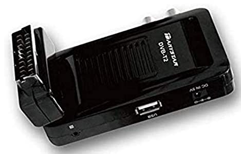 DANYSTAR® Decodificador Digital Terreste HEVC (Mini) - HD DVB-T2 T261 - Electrónica