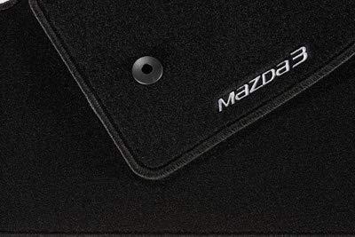 Mazda Lot de 3 tapis de sol en tissu BM à partir de 2013