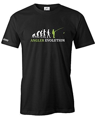 ANGLER EVOLUTION - HERREN - T-SHIRT in Schwarz by Jayess Gr. XL