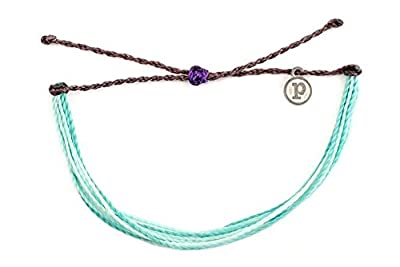 Pura Vida Midnight Waves Bracelet - 100% Waterproof Wax Coated Girls' Accessories- Handmade