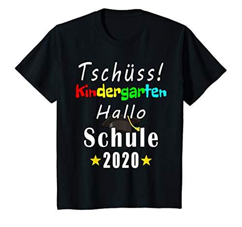 Kinder Einschulung Kindergarten Abgänger 2020 KITA Lustig T-Shirt