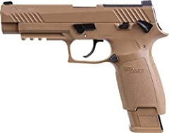 Based on the U.S. Army's M17 pistol 20-round RPM Pellet Magazine Full Blowback, Metal Slide and Polymer Frame Up to 430 fps Drop Magazine w/ Cam Lever CO2 loading