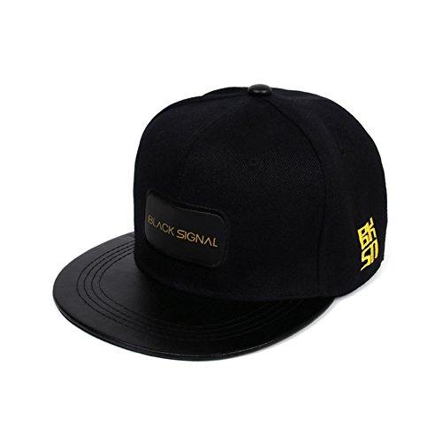 Générique Black Signal Unisexe Hommes Femmes Snapback réglable Hip-hop Casquette de Baseball