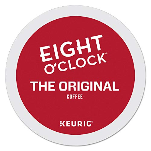 Eight O'Clock Coffee The Original, Single Serve Coffee K-Cup Pod, Medium Roast, 24 Count (Pack of 1)