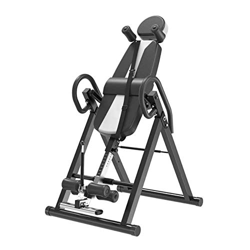 Learn More About ZDMSEJ Inversion Table Gravity Trainer Inverted Table, Reduces Back Pain, Stress/Im...