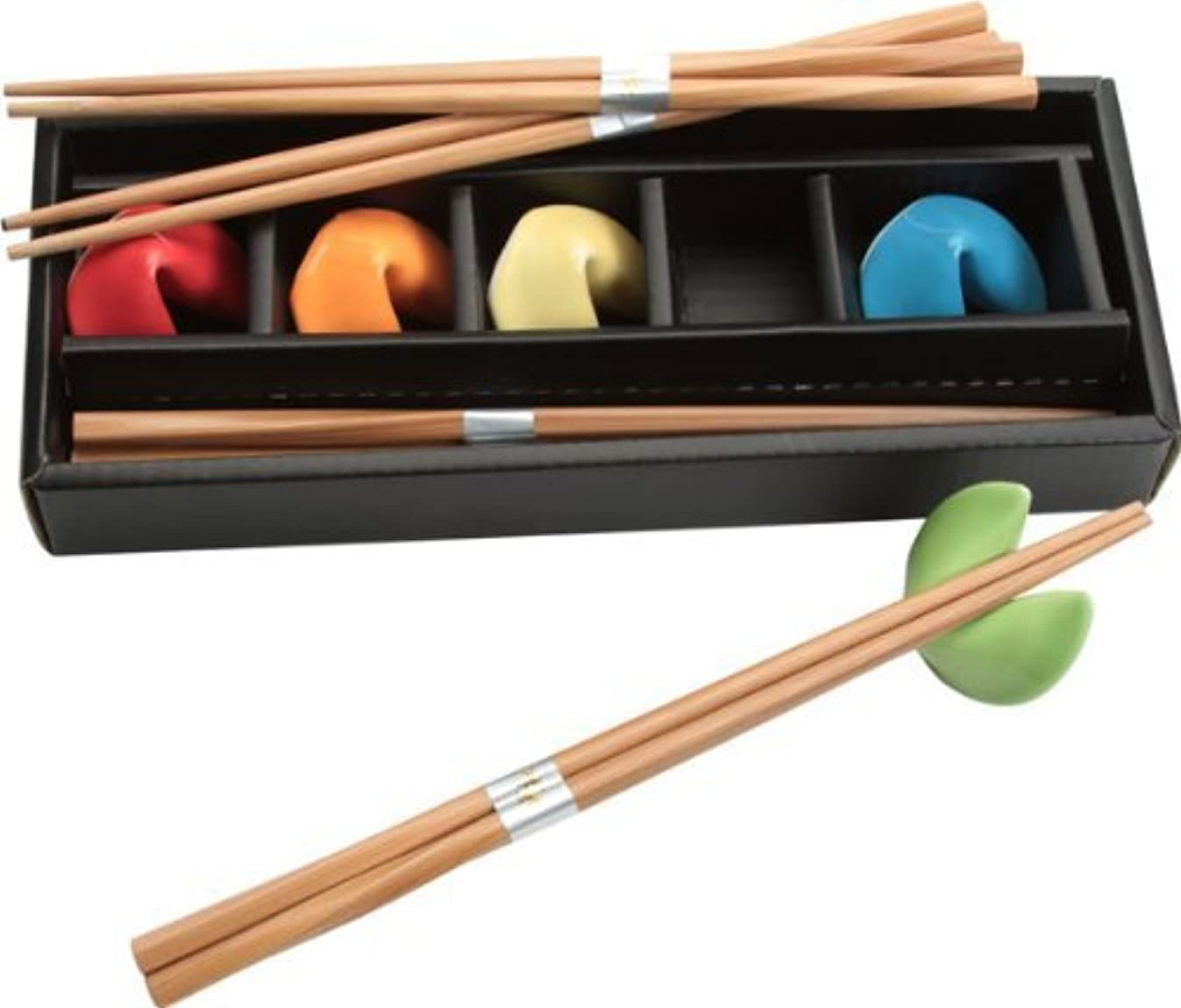 Fuji Merchandise A6892-AS CHOPSTICKS&REST SET One Size Red