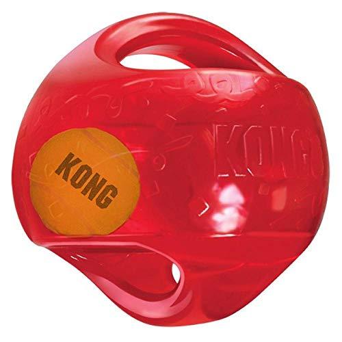 Juguete para perros Kong Jumbler Ball [2 tamaños]
