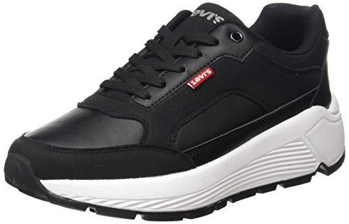 Levi's Women's KESTERSON S Sneaker, Regular Black, 9 UK