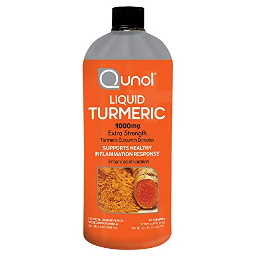 Qunol Liquid Turmeric 1,000 mg, 30.4 Ounces