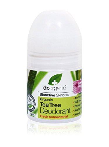 Dr. Organic Set Desodorante Roll-On 6 Uds. Árbol De Tè 300 ml