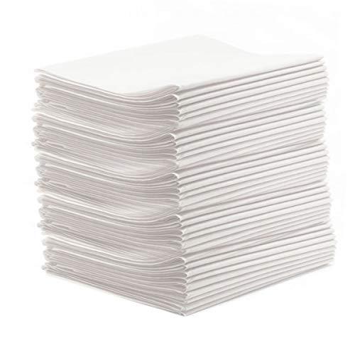 """50 Stück Vlieslaken""""classic PP50"""" Hygieneauflage 80x200 cm Waschfaserlaken Sparpaket (bis 200 x waschbar) Waschfaserlaken Waschvlieslaken Laken für die Massageliege"""