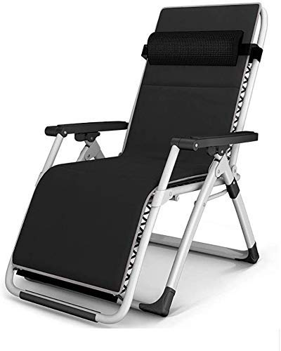 Office Desk Chair Folding Chair, Garden Recliner Armchair With Reclining Balcony, Office Dining Table, Outdoor Travel Beach Camping Bed, Adjustable Headrest, Detachable Cotton Ball (Color : E)