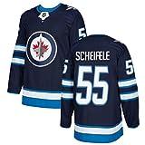 NHL男子アイスホッケーウィニペグジェット26ウィーラー29レイン55シャイフェレ ジャージースウェットシャツ快適で 長袖Tシャツ