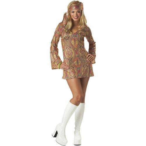 Generique - Sexy Pailletten-Disco-Outfit für Damen! M (40/42)