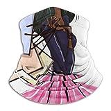 Hipiyoled Cuello Bufanda Hermosas Mujeres jóvenes con Bolsas de Compras 10'x 11.6' Pulgadas Hombres Ski Gaiter Cover Face