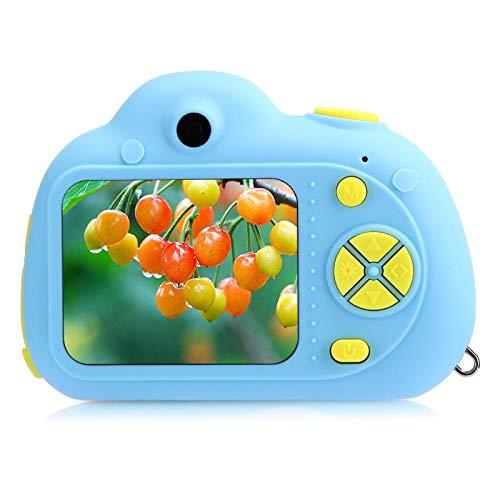 DAUERHAFT Grabación de Video de Doble Lente Grabación de Video de Doble Lente Reconocimiento Facial Cámara Digital Cámara Digital, Compatible con guardado automático