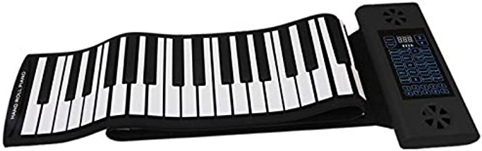 Konix 88 Keys Flexible Electronic Roll up Piano with Bluetooth & Dual Speaker