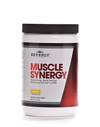 Beverly International Muscle Synergy Powder, 403 Grams. Who Else Wants to Make Lean Muscle Gains...