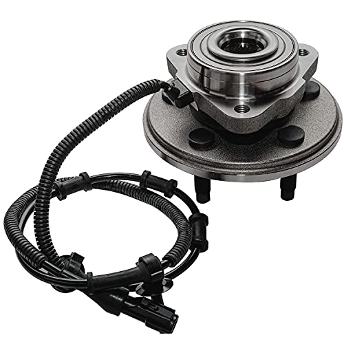 Detroit Axle - Front Wheel Hub and Bearing Assembly Replacement for 2002-2005...