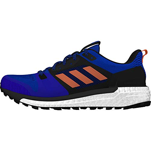 Adidas Supernova M, Zapatillas de Trail Running Hombre, Azul (Azalre/Naalre/Negbás 000), 48 EU