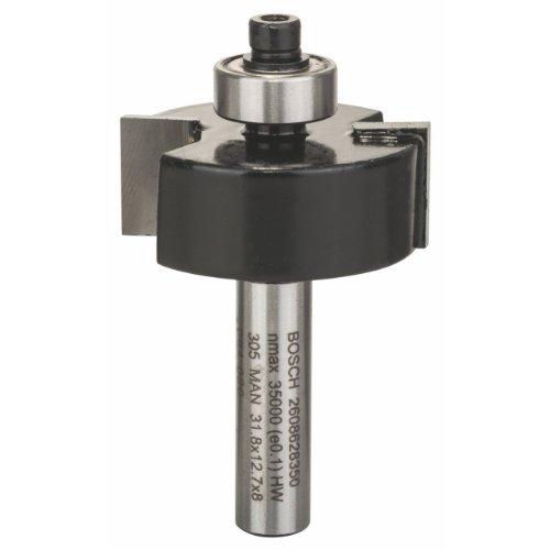 Bosch Professional Zubehör 2 608 628 350 Falzfräser 8 mm, B 9,5 mm, L 12,7 mm, G 54mm