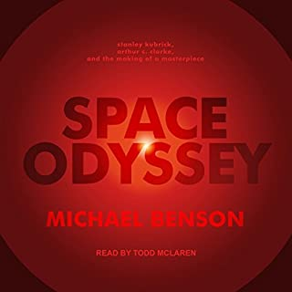 Space Odyssey audiobook cover art