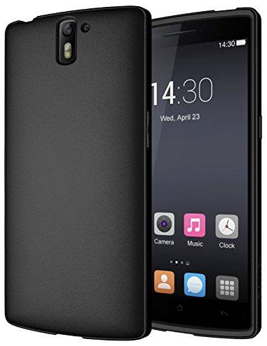 Diztronic Full Matte Flessibile Custodia per OnePlus One, Nero