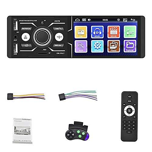 4,1 Pulgadas HD Car Press MP5 Player Smart Voice Multi-Language FM Am USB