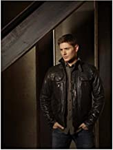 Sexy Dean Winchester in Leather Jacket With Hands In Pockets - 8x10 Photograph / Photo - HQ - Supernatural